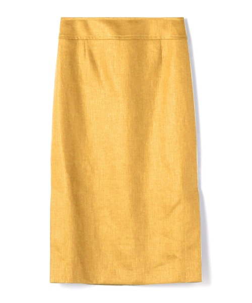 ESTNATION / リネンタイトミディスカート