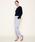 MARIEBELLE JEAN(マリベルジーン)の「MARIEBELLE JEAN   テーパード トラウザー カラーパンツ   KIR(キール)/33171011(スラックス)」|詳細画像