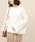 ROPE' mademoiselle(ロペマドモアゼル)の「アンゴラ混ボトルネックニット(ニット/セーター)」 ホワイト