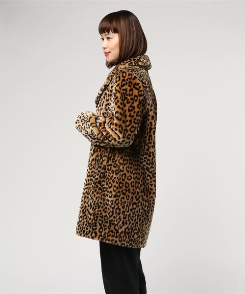 STAND:ECO FUR LEOPARD CT