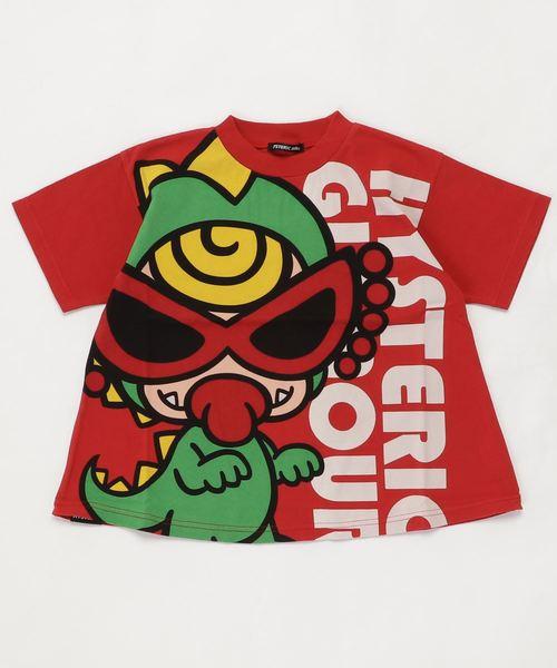 MONSTER FLOWER GARDEN ミニラBIG半袖Tシャツ