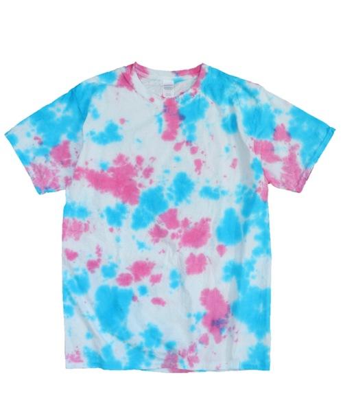 GILDAN(ギルダン)の「【WEB限定】GILDAN/ギルダン GOODYE TIE-DYE TEE(Tシャツ/カットソー)」|ピンク