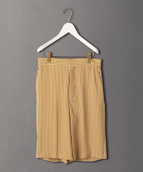 <6(ROKU)>STRIPE SHORT PANTS/パンツ:ο
