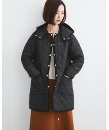Traditional Weatherwear(トラディショナルウェザーウェア)のARKLEY with DETACHABLE HOOD(ノーカラージャケット)