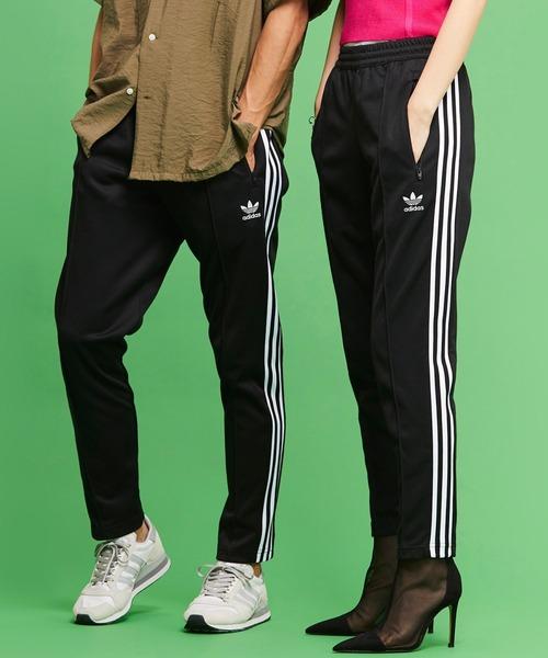 adidas(アディダス)の「べッケンバウアー トラックパンツ [BECKENBAUER TRACK PANTS] アディダスオリジナルス(パンツ)」|ブラック