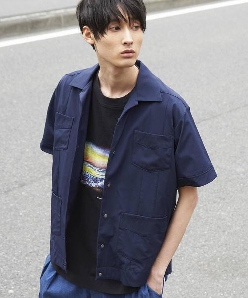 【GO OUT6月号掲載】4WAYストレッチキューバシャツ(UTILITY LINE)