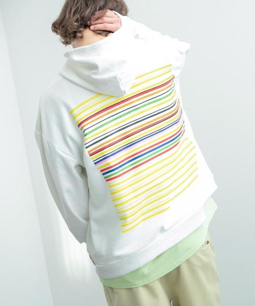Mark Gonzales/マークゴンザレス EMMA CLOTHES別注 オーバーサイズ プルオーバーパーカー