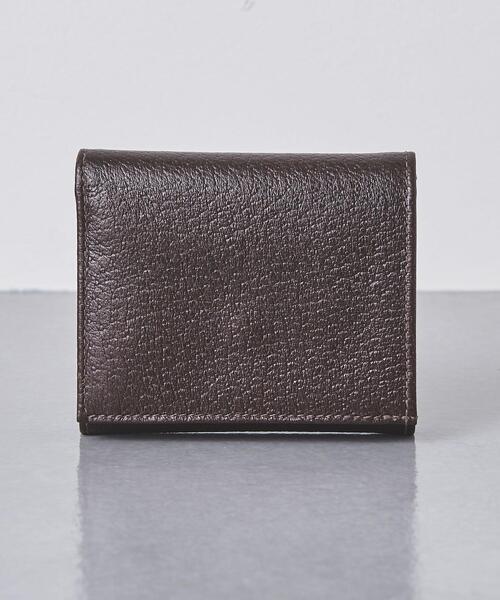 <Whitehouse Cox(ホワイトハウスコックス)> 【別注】 S1121 PIG SKIN/三つ折り財布
