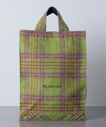 〈 BLAMINK(ブラミンク)〉 W ALP/W CHECK TOTE