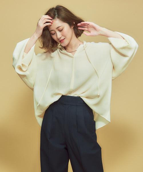 【名入れ無料】 【セール】ギャザーネックシャツ(シャツ/ブラウス)|Abahouse Devinette(ドゥヴィネット)のファッション通販, ONEPIECE:ba482249 --- svarogday.com
