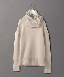 <6(ROKU)>LONG TURTLE NECK KNIT/ニット