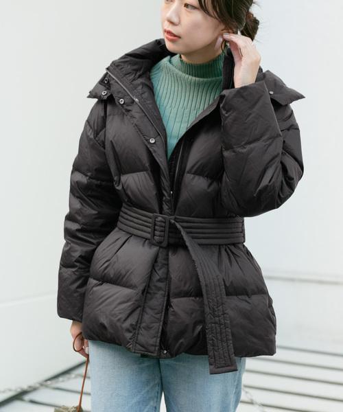 100%の保証 KBF+ グリーンダウンベルトジャケット(ダウンジャケット/コート) KBF+(ケービーエフプラス)のファッション通販, 三富村:87f096f3 --- 5613dcaibao.eu.org