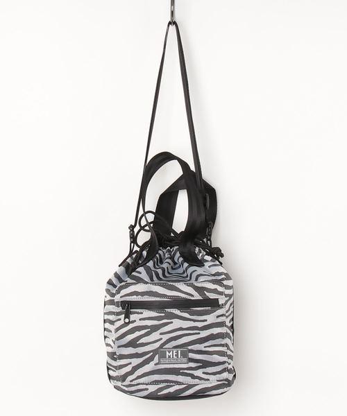 【MEI/メイ】ZEBRA DRAW BAG 巾着バッグ