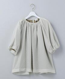 <6(ROKU)>QUILTED JACQUARD PULLOVER/トップス