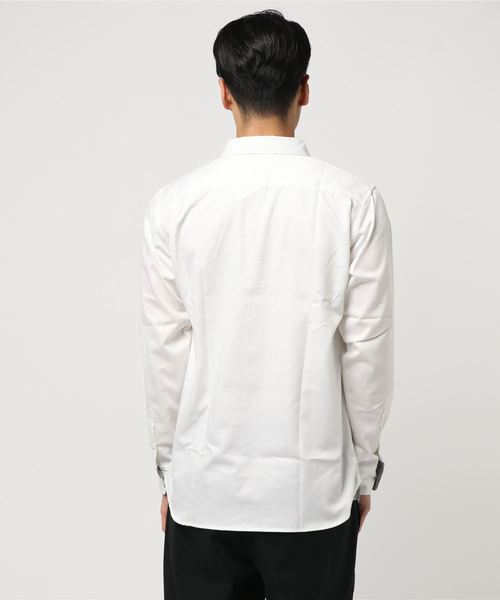 HVC / 綿ツイル千鳥切替シャツ