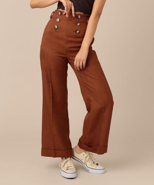 激安の 【セール】サイドベルトダブルヘムマリンパンツ(パンツ)|DEICY(デイシー)のファッション通販, on-device:b9434958 --- blog.buypower.ng