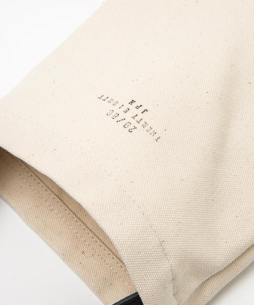 【20/80】トゥエンティーエイティー/CANVAS #8 SMALL TOTE BAG  WITH LEATHER HANDLE