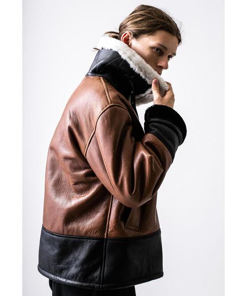 最低価格の <Clothsurgeon × × monkey time> SHEARLING B-3 JACKET/B-3ジャケット(ミリタリージャケット) SHEARLING|MONKEY UNITED TIME(モンキータイム)のファッション通販, 送料0円 家具:a8330d41 --- svarogday.com