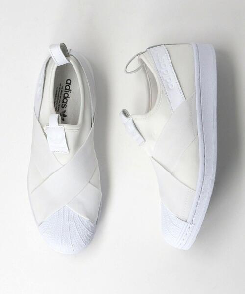 <adidas>SST SLIP ON スニーカー