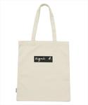 agnes b. | TOTE BAG WITH BOX LOGO(トートバッグ)