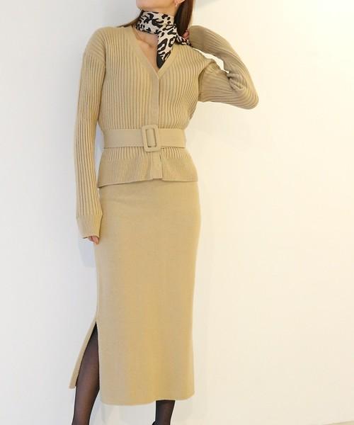 最新発見 【セール】カシミアニットカーディガン×スカートセットアップ(カーディガン) AMBIENT(アンビエント)のファッション通販, 東海砂利:6ba3ad9f --- bioscan.ch
