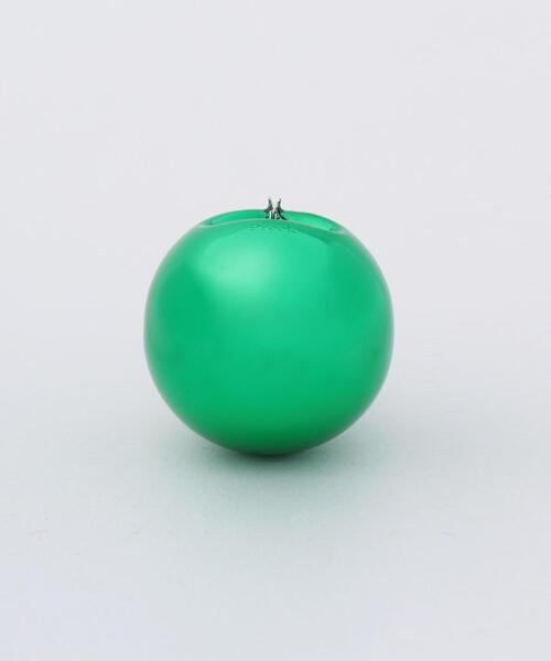 <Preek>HOLLOW CIRCLE EARRING GREEN M/ピアス.
