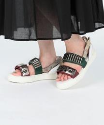 Ray BEAMS(レイビームス)のTOGA PULLA SHOE × Ray BEAMS / 別注 Metal Sneaker Sandal(サンダル)