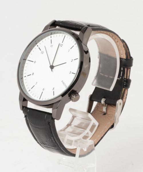 激安正規  【セール】PUレザーペアウオッチ(腕時計)|4A.M.LIFESTYLE(フォーエーエムライフスタイル)のファッション通販, シューズウォークアップ:d87d9195 --- skoda-tmn.ru
