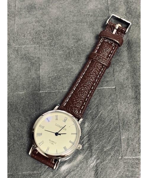 (訳ありセール 格安) 【セール】PUレザーペアウオッチ(腕時計)|4A.M.LIFESTYLE(フォーエーエムライフスタイル)のファッション通販, 街着屋 きもの遊び:fa75853b --- skoda-tmn.ru