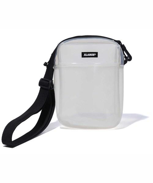 PATCHED SHOULDER PVC BAG