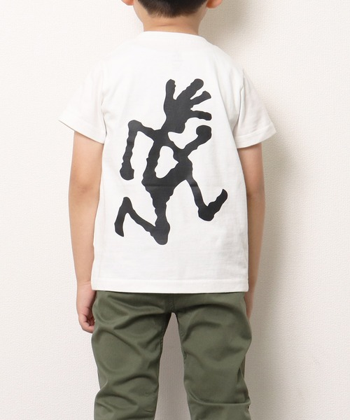 【 GRAMICCI / グラミチ 】KIDS BIG RUNNINGMAN TEE GKT-20S207-K