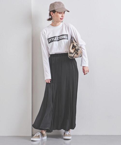 UWCS P フレア マキシスカート