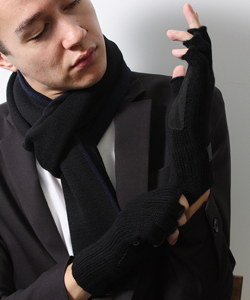 激安特価  カシミヤ フィンガーレス グローブ(手袋)|G.D.M フィンガーレス (general G.D.M design design made)(ジーディーエム)のファッション通販, 代官山クロシェット:7b115484 --- pyme.pe