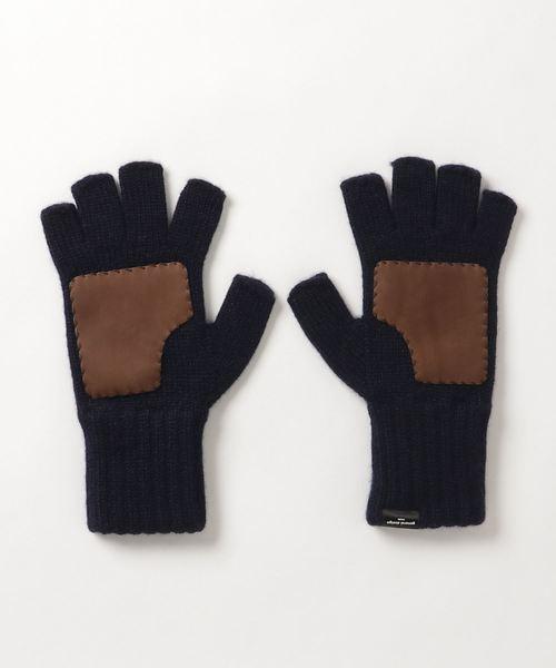 【35%OFF】 カシミヤ design フィンガーレス グローブ(手袋) (general|G.D.M G.D.M (general design made)(ジーディーエム)のファッション通販, 靴スニーカーアパレルLagunaBreeze:8580253b --- pyme.pe