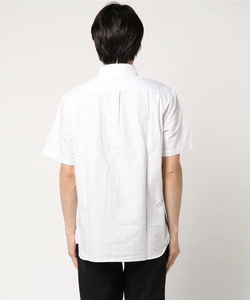ニューエラ ボタンダウンシャツ ペイズリー ホワイト NEW ERA