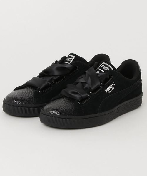 outlet store 89912 18bed PUMA SUEDE HEART BUBBLE WOMENS