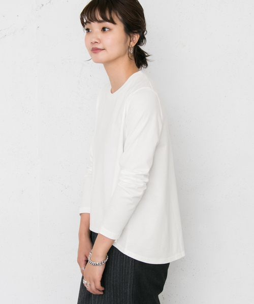 A-LINE LONG SLEEVE Tシャツ
