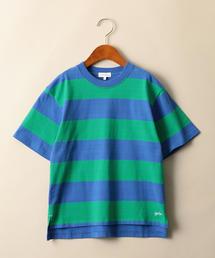 【ジュニア】ワイドボーダーTシャツ