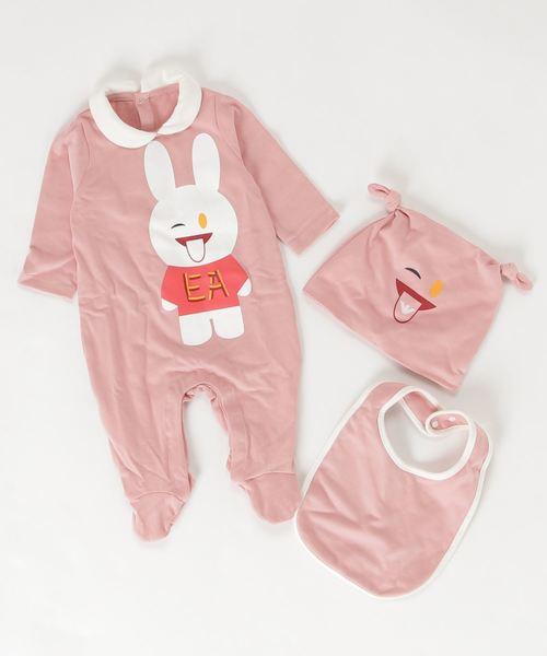 EMPORIO ARMANI(エンポリオアルマーニ)Baby ギフトセットロンパースジャンプスーツ