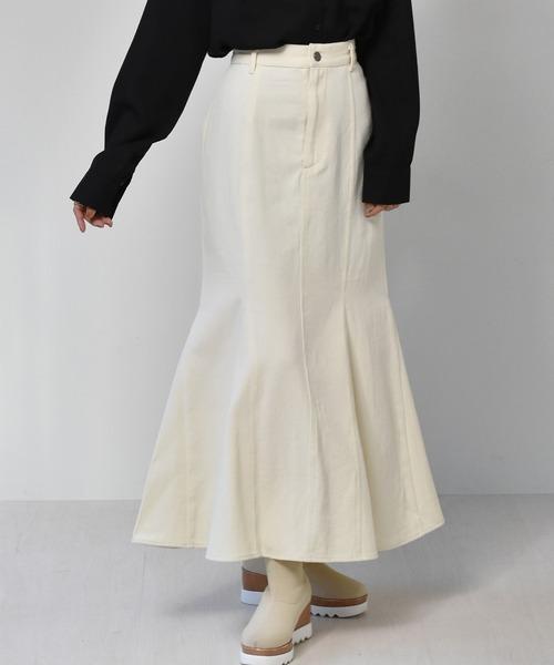 マーメイドツイルスカート