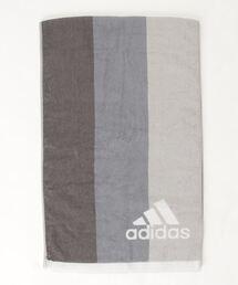 【 adidas / アディダス 】グラット スポーツタオル 06-1295150 towel TOBグレー