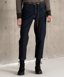 OURET(オーレット)の13oz UNEVEN YARN STRETCH DENIM ONE WASH UNCLE CUT TAPERED PANTS(デニムパンツ)