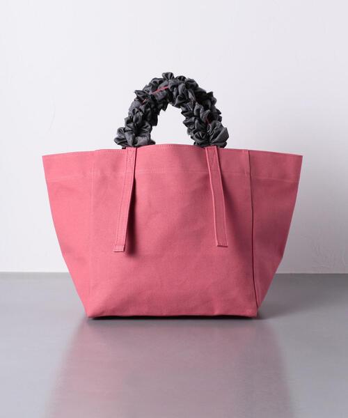 【別注】<LUDLOW(ラドロー)>キャンバス グレープハンドル バッグ