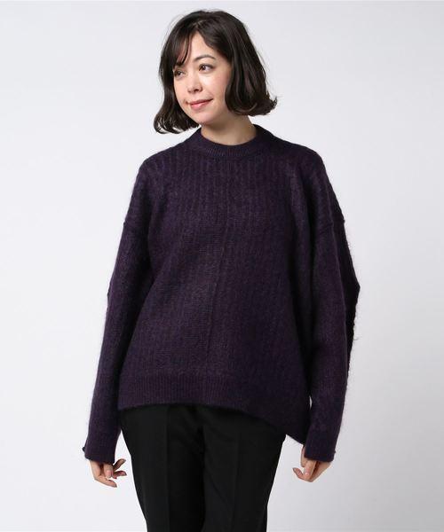 美しい RITO ストライプモヘアニット(ニット MIDWEST/セーター) RITO(リト)のファッション通販, シマジリグン:946fed1f --- 5613dcaibao.eu.org