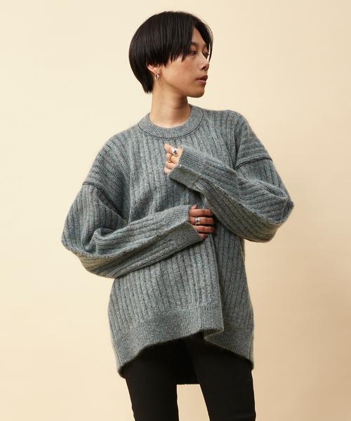 【正規品】 RITO ストライプモヘアニット(ニット/セーター)|RITO(リト)のファッション通販, 大川の家具屋さん:4ced217a --- 5613dcaibao.eu.org