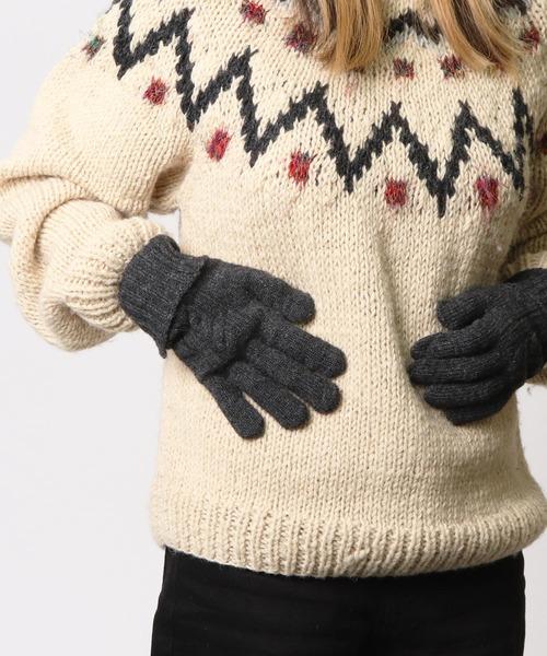 【 warmth / ウォームス 】 指紋認証 ふかふかウール手袋 WST・・