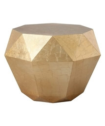 Francfranc(フランフラン)の【W520】ダイヤモンド テーブル ゴールド(家具)