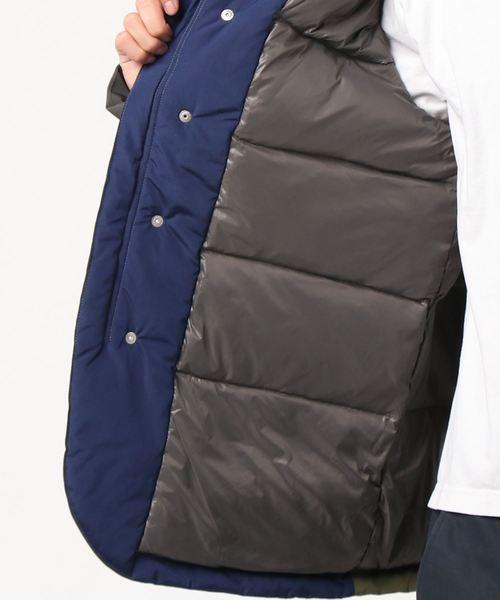 ヘビーフラットクレイジーダウンパーカジャケット