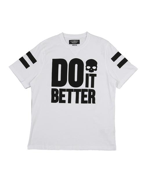 最新のデザイン ≪ HYDROGEN IT/ハイドロゲン≫ BETTER DO IT BETTER Tシャツ/DO IT BETTER BETTER T-SHIRT(Tシャツ/カットソー)|HYDROGEN(ハイドロゲン)のファッション通販, 名古屋今池 やぶ屋のお取り寄せ:50c5e3d3 --- steuergraefe.de