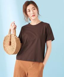 COLLAGE GALLARDAGALANTE(コラージュガリャルダガランテ)の強撚クールTシャツ(Tシャツ/カットソー)